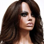 MD-LPW-136: LACE PART LONG LAYERED LOOSE WAVE YAKY WIG