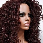 MD-LPW-138: LACE PART LONG NATURAL WATER DEEP CURL WIG