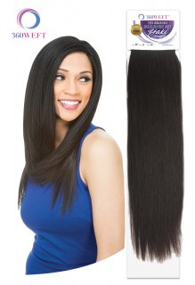 "CH-BKWHYS-18"": 360 WEFT BRAZILIAN KNOT WEFT 100% HUMAN HAIR REMI"