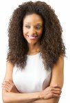 CH-4041F-ANYA: CURLY FASHIONABLE HIGH HEAT RESISTANT HALF WIG