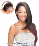 SN- SHW 404: MAGIC WEAVE HALF WIG SYNTHETIC, UNBALANCED STYLE