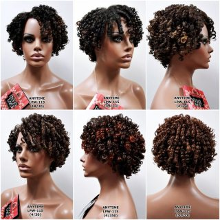 MD-LPW-115: LACE PART SHORT SPRING CURL WIG