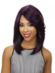 "EV-WIL-901: 15"" DEEP I PART LACE FRONT HEAT RETARDANT WIG"