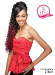 "SN- BANG N BEACH CURL 30 "" - PREMIUM QUALITY PONYTAIL"