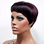 MD-ESTELLA: SHORT BOYCUT WITH UNBALANCED RAZOR CUT WIG