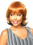 CHO-ECO-207: ECO QUALITY HUMAN HAIR BLENDED MEDIUM WIG