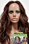 MD-SS-177-CP:LACE PART CENTER PART LONG LOOSE BEACH WAVE WIG