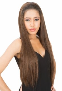 CH-CTF04: FASHIONABLE XTRA LONG HEAT RESISTANT FIBER HALF WIG