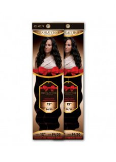 "CHO- CHOCOLATE FRENCH TWIST 10"": SINGLE PACK- WEAVING HAIR"