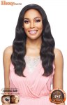VA-TH5NC-TELTY: 100% BRAZILIAN HUMAN HAIR LACE FRONT WIG