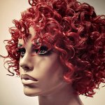 MD-CHLOE: QUALITY SHORT BANTU KNOT OUT LOOK WIG