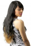 CH-BTH26: BRAZILIAN TRESS HUMAN HAIR BLEND SASSY WAVE WIG