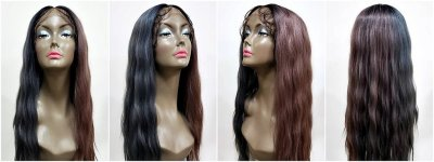 MD-SLF-TILDA: SWISS LACE FRONT CENTER PART LOOSE BEACH WAVE WIG