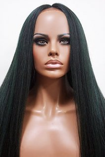 MD-SS-223-LFW: LACE FRONT CENTER PART EXTRA LONG WIG