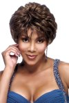 VF-H209-V: 100% PREMIUM HUMAN HAIR PURE STRETCH CAP WIG
