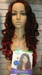JZ-CAMILLA -ACW87: LONG CURLY QUALITY NATURAL FIBER WIG