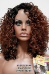 MD-SS-157-OCP: LACE PART OFF CENTER LONG DEEP CURL WIG