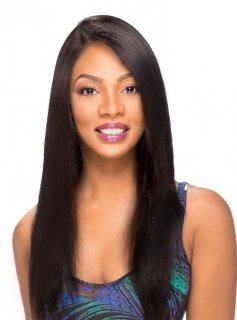 SN-STRAIGHT: 100% NATURAL HUMAN HAIR WHOLE LACE WIG