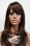 MD-SS-DEPINA: LONG STRAIGHT LAYERED CUT WITH BANGS WIG