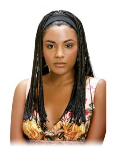 JW-BRAID WIG WITH HEAD BAND -BW799
