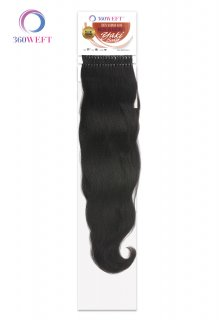 "CH-MBWHYB-18"": 360 WEFT MICRO BEADS WEFT YAKI BODY HAIR"