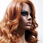 MD-LPW-128: LACE PART EXTRA LONG LOOSE CURLY WIG