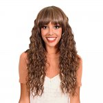 HP-MV-SARAH: LONG OCEAN WAVE CURL FULL WIG