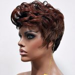 MD-OBELIA: QUALITY TAPE CURL BOY CUT WIG