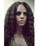 MD-IL-205DSP: EAR TO EAR LACE FRONT LONG WAVY WIG