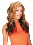 "SN: ROSEMARY 21"" 100% HAND TIED FULL LACE WIG SYNTHETIC HAIR"