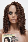 MD-SS-150-OCP: LACE PART SENEGALESE BRAID TWIST OUT WIG