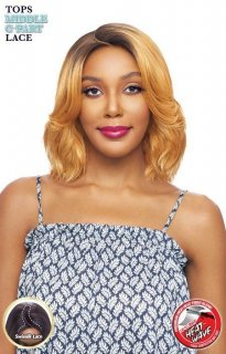 VA-TOPS-MC-LILIA: LACE FRONT MIDDLE C- PART WIG