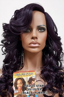 MD-SS-101-EP: LACE EDGE PART LONG LAYERED ROMANCE CURL WIG