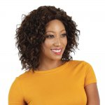 HP-NBS-I1975: LACE FRONT SLIGHT WAVY CURL MIDDLE PART WIG
