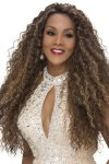 "VF-WP-TAYLOR: 30"" LAYERED NATURAL SPIRAL CURL WEAVE CAP WIG"