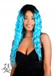 FA-AMANDA: LONG LACE FRONT HIGH HEAT FIBER WIG