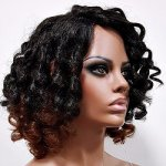 MD-LPW-129: LACE PART MEDIUM LENGTH NATURAL KINKY WIG