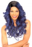 CH-MLC-186: LACE FRONT CURVED PART HIGH HEAT RESISTANT WIG
