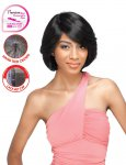 SN- AISHA: PREMIUM QUALITY HIGH TEMP. FIBER. RELAXED HAIR WIG