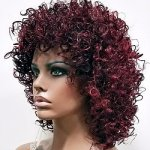 MD-HAZELLE: QUALITY TWISTED JERRY CURL WIG