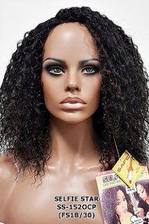 MD-SS-152-OCP: LACE PART NATURAL LOOK CRIMP CURL LONG WIG