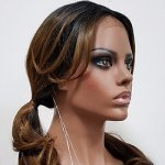 MD-IL-204DSP: EAR TO EAR LACE FRONT 100% HAND KNOTTED WIG