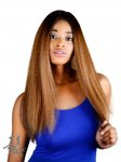 FA-KAREN: QUALITY HIGH HEAT FIBER LACE FRONT WIG