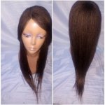 OPY-SHOULDER LENGTH: 100% HAND MADE TWIST BRAID LACE PART WIG