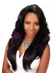 EV-NBS-1201: LACE FRONT DEEP I PART HEAT RETARDANT WIG