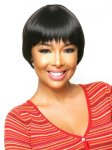 CHO-ECO-107: ECO QUALITY HUMAN HAIR BLENDED SHORT WIG