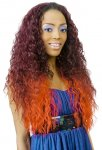 CH-4031-VENUS: LONG CURLY FASHIONABLE HALF WIG