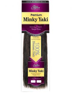 "JZ-14"": PREMIUM MINKY YAKI WEAVING HAIR"