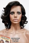 MD-SS-107 EP: LACE FRONT LOOSE CURL SIDE SWEPT BANGS WIG