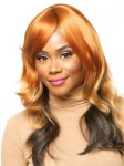 CHO-ECO-302: ECO QUALITY HUMAN HAIR BLENDED LONG WIG